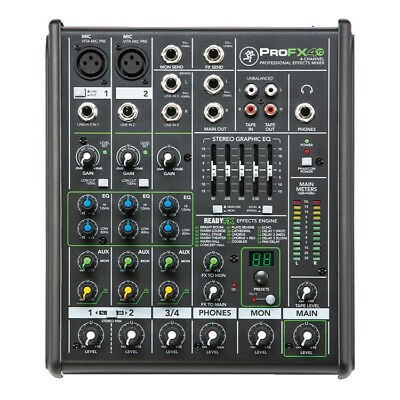 Mackie PROFX4V2 4 Channel Mixer with Effects