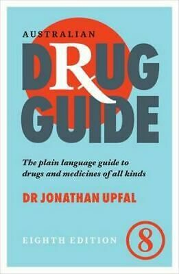 NEW Australian Drug Guide By Jonathan Upfal Paperback Free Shipping