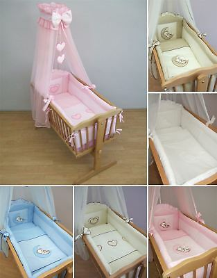 10 Piece Crib Bedding Set 90x40 cm Nursery for Baby in Various Designs / Colours