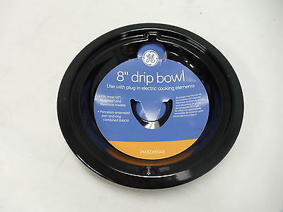 """GE Partsmaster 8/"""" Chrome Range Drip Bowl PM32X113 not for GE or Hotpoint"""