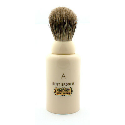 Simpsons Major M1 Best Badger Travel Shaving Brush