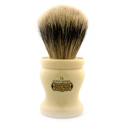 Simpsons Tulip T4 Super Badger Shaving Brush