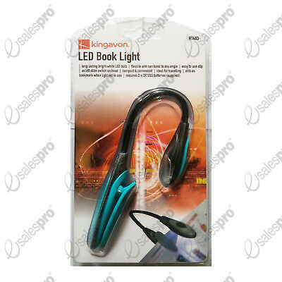 LED Book Light - Bright, Flexible, Clip, Switch, on/off. Cut Price Deals 1-4
