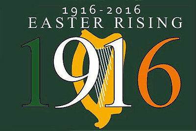 Easter Rising 1916 - 2016 Flag - 5 x 3' Irish Republican Rebel Ireland Centenary