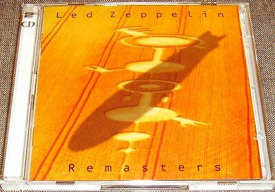 LED ZEPPELIN Remasters 2CD 1990 Jimmy Page Robert Plant 22 Tracks Compilation