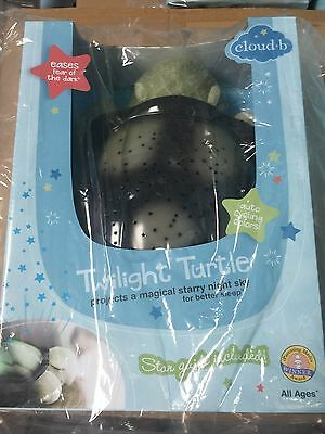 Cloud b Twilight Constellation Night Light, Turtle from Cloud b, NEW IN BOX