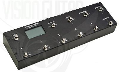 NEW! RJM Music Technology Mastermind PBC Pedalboard Switcher (10 Loops 4 Stereo)