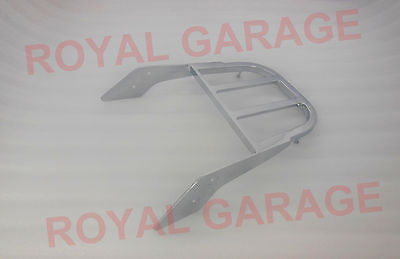 New Customised Royal Enfield Harley Rear Seat Backrest Carrier