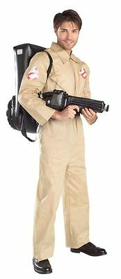 Halloween GHOSTBUSTERS WITH INFLATABLE BACKPACK MEN ADULT STANDARD COSTUME