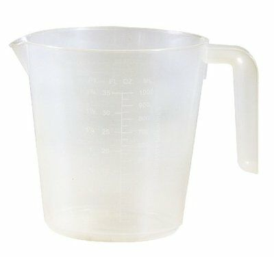 Easy Pack Plastic Measuring Cup, 4 Cups, 32-Ounce