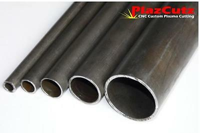 ERW METRIC Mild Steel Round Tube Pipe CHS Various Cut Sizes & Lengths available