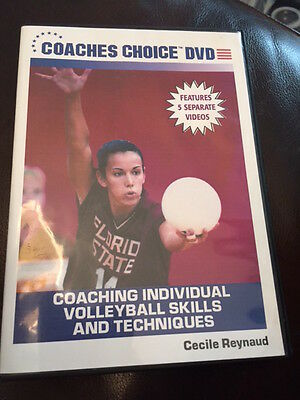 Coaches Choice DVD - Coaching Individual Volleyball Skills and Techniques by Cec