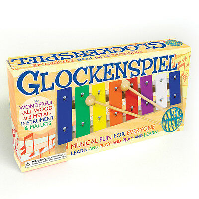 House of marbles New Wooden and metal Musical Glockenspiel Xylophones