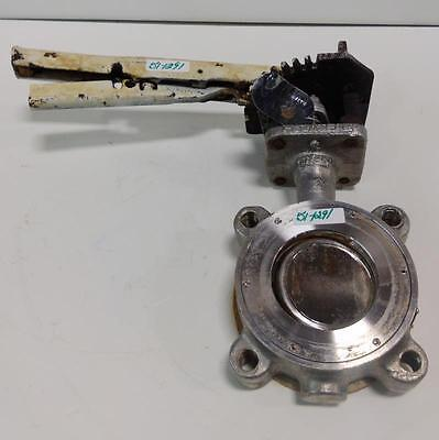 "Flowseal Size-3"" Cf8M Butterfly Valve"