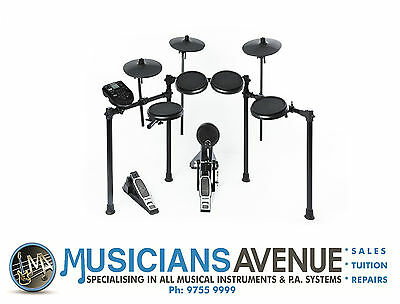 Alesis Nitro Drum kit & FREE HEADPHONES 8-Piece Electronic Drum Kit Set.