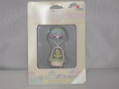 Baby's First Easter Figurine new NIP chick in a hot air balloon CUTE!!! Matrix