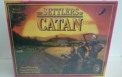 The Settlers of Catan 3061 Mayfair Game Family Strategy Board 4th Edition Sealed