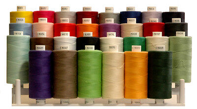 Moon Polyester Sewing Threads By COATS (List OF Colours and Reels Quantity)
