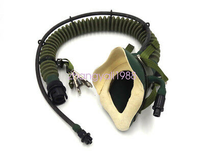 Surplus China air force fighter pilot YM 6505 OXYGEN Mask