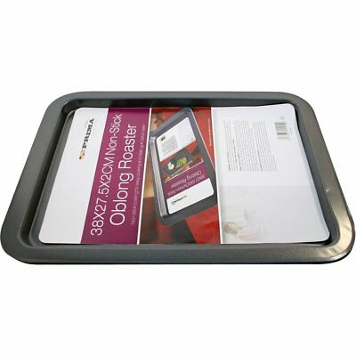 Large Non Stick Oblong Cookie Roasting Pan Oven Tray 38cm x 27.5cm x 2cm