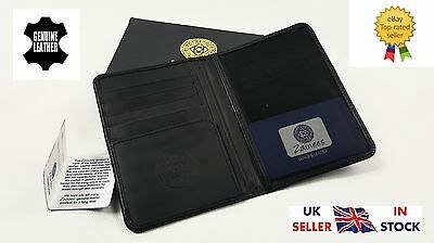 Genuine Real Leather Passport Holder, Cover Wallet Travel Organiser. Gift Boxed