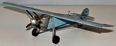 Spirit of St. Louis Flugzeug Blechmodell Tin Model Vintage Plane 22 cm 37240