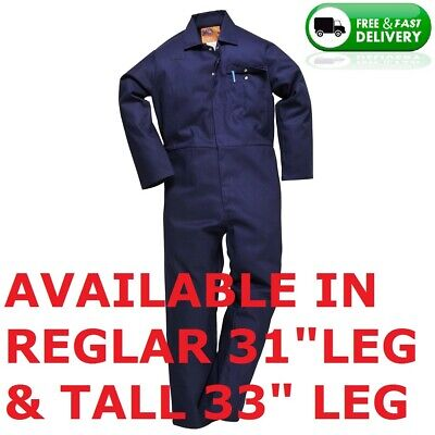 100% Cotton Welding Coveralls / Overalls,welding,grinding,navy Blue, All Sizes