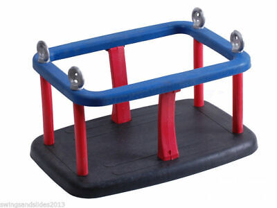 Baby Commercial Heavy duty rubber swing seat Playground no chain FREE PP