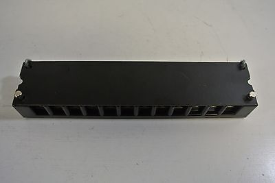 Marathon Special Products 1612 H 600v 75A 12 Pole terminal Block Barrier NEW