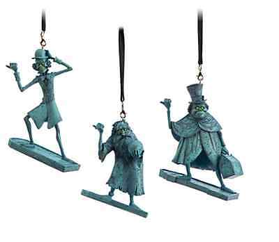 NEW Disney Parks Haunted Mansion Hitchhiking Ghosts Ornament Set - Ezra Gus