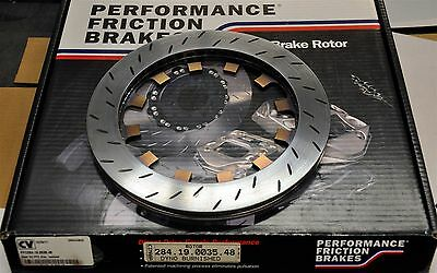Performance Friction 284.19.0035.48 Fits PFC ZR24 Caliper Rear Burnished Slotted
