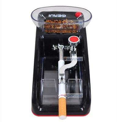DIY Electric Automatic Cigarette Rolling Machine Tobacco Injector Make Roller CB