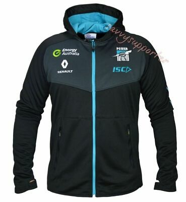 Port Adelaide Power 2016 Black Workout Hoody Jacket 'Select Size' S-3XL BNWT