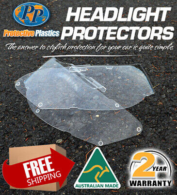 HEADLIGHT PROTECTOR TO SUIT NISSAN PATROL GU 1 99-03 LAMP COVERS CLEaR