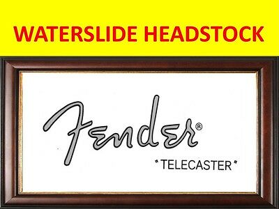 Waterslide Headstock Fende Telecaster 50'sproduct On Sale Until End Of Stock