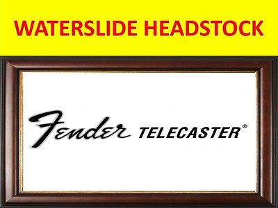 Waterslide Headstock Fende Telecaster 68's Product On Sale Until End Of Stock