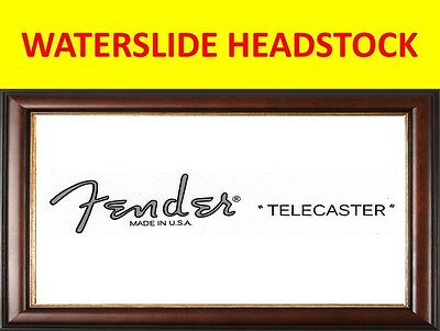 Waterslide Headstock Fende Telecaster 90's Product On Sale Until End Of Stock