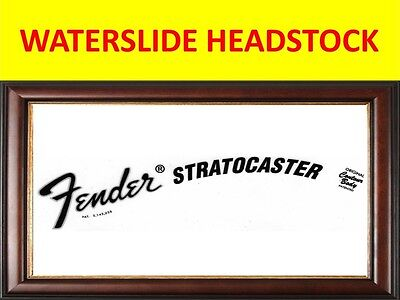 Fender Stratocaster 70's Waterslide Decal For Restoration & Decoration