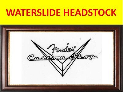 Fender Stratocaster Custom Shop Waterslide Decal For Restoration & Decoration