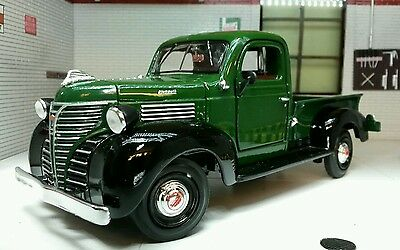 G LGB 1:24 Scale 1941 Plymouth Lorry Pickup Truck Diecast Model Railway