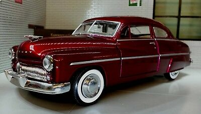 G LGB 1:24 Scale 1949 Ford Mercury Coupe Motormax Diecast Model 73225 Car