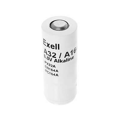 Exell A32PX 6V Alkaline Battery Replaces  A32PX, PX32A, TR164A, EN164A