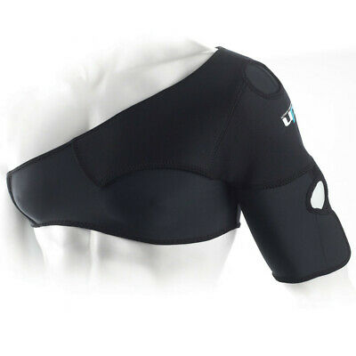 Ultimate Performance Running Neoprene Anatomical Bi-Lateral Shoulder Support New