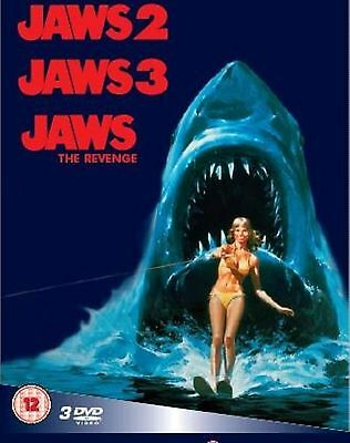 Jaws 2 / Jaws 3 / Jaws The Revenge - Dennis Quaid, Bess Armstrong Region 2 DVD