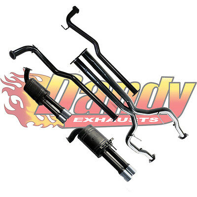 "Ve V8 V6 Holden Commodore Dea Twin 2.5"" Catback Mild Steel Exhaust Sedan"