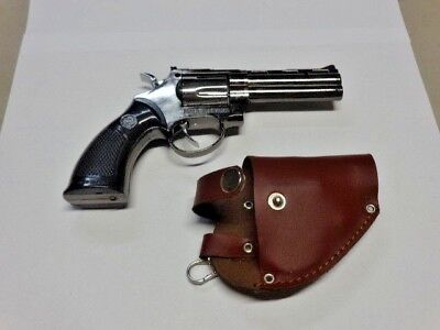 Smith And Wesson Colt 357 Gun Revolver Jet Torch Lighter USA Stocked And Shipped