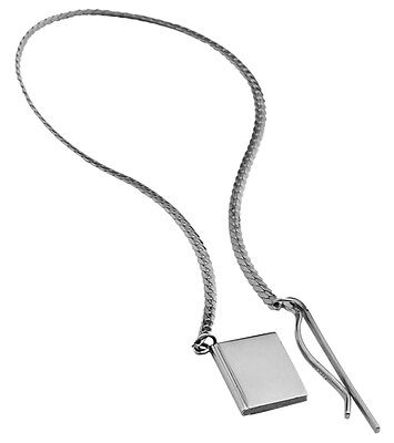 Square Chain Bookmark Sterling Silver 925 Hallmarked New From Ari D Norman