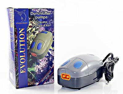 Pompe A Air Aquarium Silent Mouse M-104 350 L/h 2 Sorties