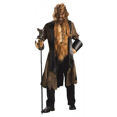 Beauty and The Beast Costume Adult Halloween Fancy Dress
