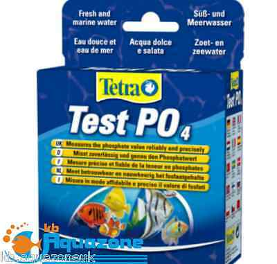 Tetra TEST PO4 (10ml + 16,5g) FRESH & MARINE measures phospate value *